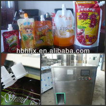 soursop juice stand up security bag fill and screw cap production line packing machine