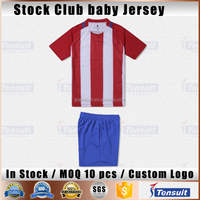 Thailand quality full set soccer kids kits euro team youth soccer wear discounted jersey football children blank soccer t shirts
