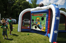 Inflatable sports mania/ Cool shooting hoops for kids