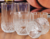 clear glass cup/glass whisky cup
