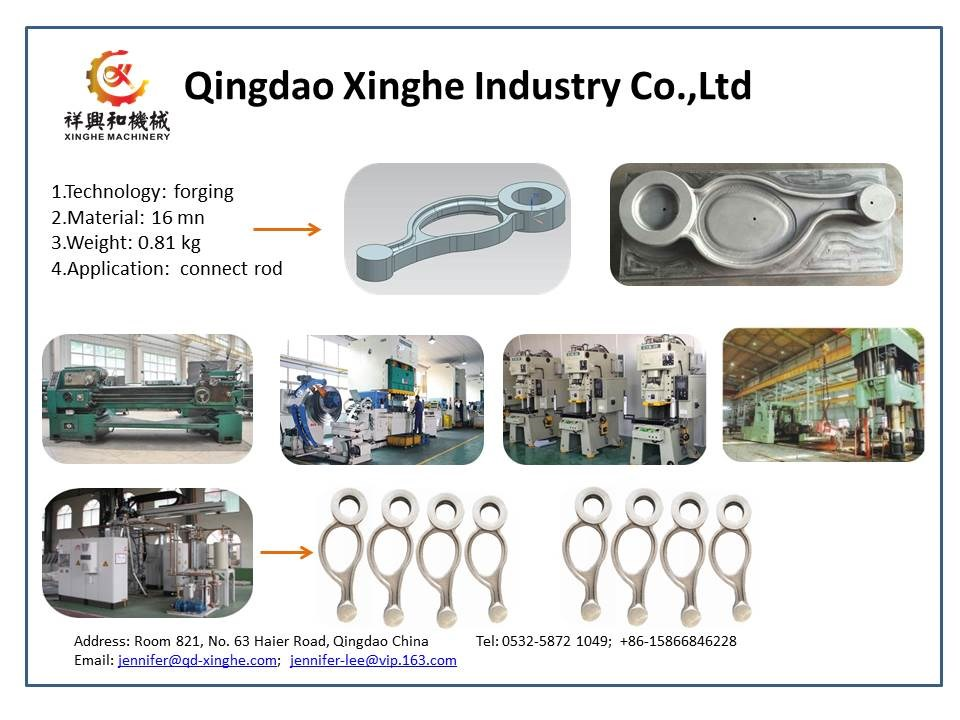 China foundry forged products aluminum steel hot cold forging with anodizing