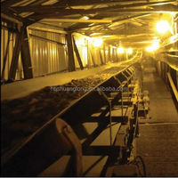 integral carcass PVC rubber conveyor belt with strong tensile strength 1400S