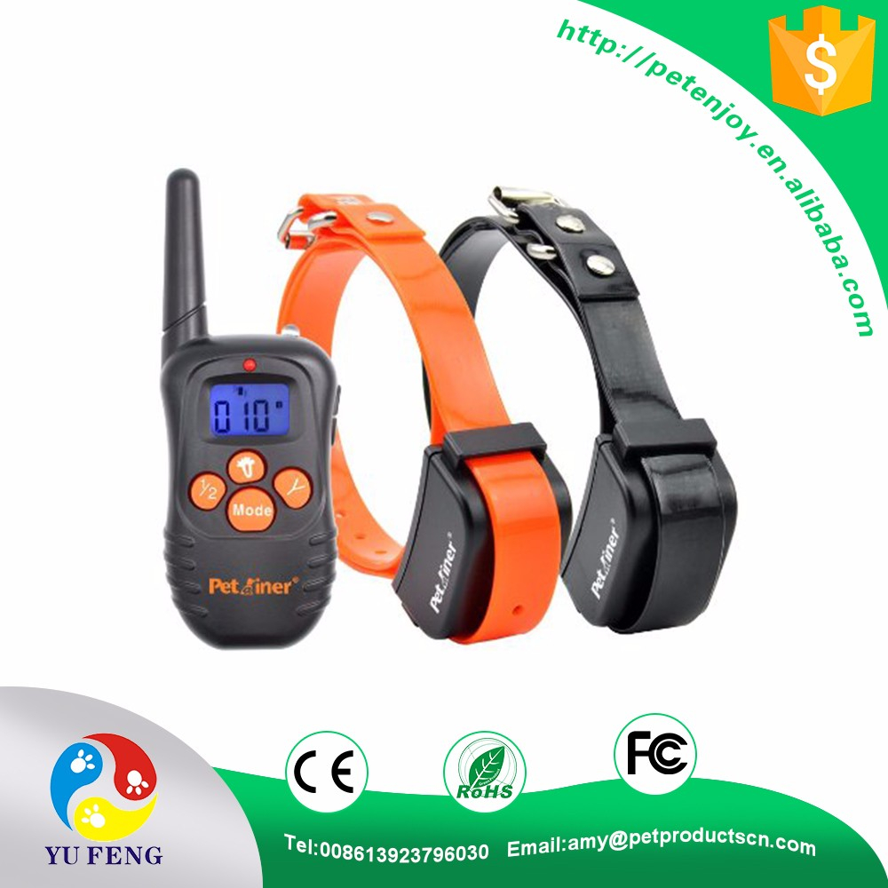 998DB 300M Waterproof Rechargeable LCD Dog Training Collar