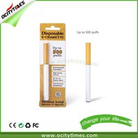2015 Top Selling Professional OEM 500 puffs Empty Disposable Electronic Cigarette