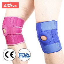 YIJIA 2018 colorful arthritis injury recovery anti-slip knee support pad