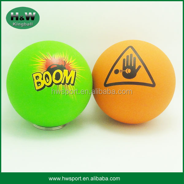 60mm rubber high bounce ball for promotion