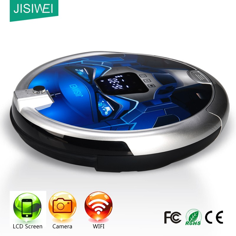 no need handheld ! WIFI + HD camera+ LCD ! handfree <strong>vacuum</strong> robot cleaner intelligent robot <strong>vacuum</strong>