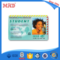 MDP649 PVC membership ID card with photo frame