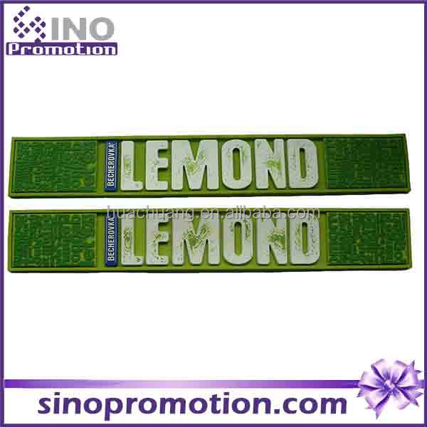 Wholesale Custom Design Print Rubber Bar Service Spill Mat - Green