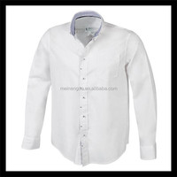 hot sale new gadgets 2015 long sleeve fashion white shirts for men