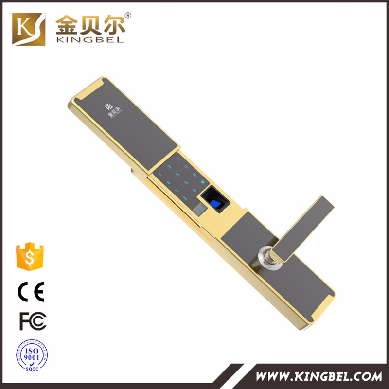Newest products fingerprint password door swipe card lock