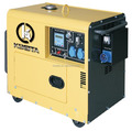 6KVA Silent diesel generator with ATS