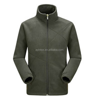Factory OEM Men Double Polar fleece Jacket 100% polyester 260gsm Warm Anti-pilling Thicker Soft shell sport wear Men coat
