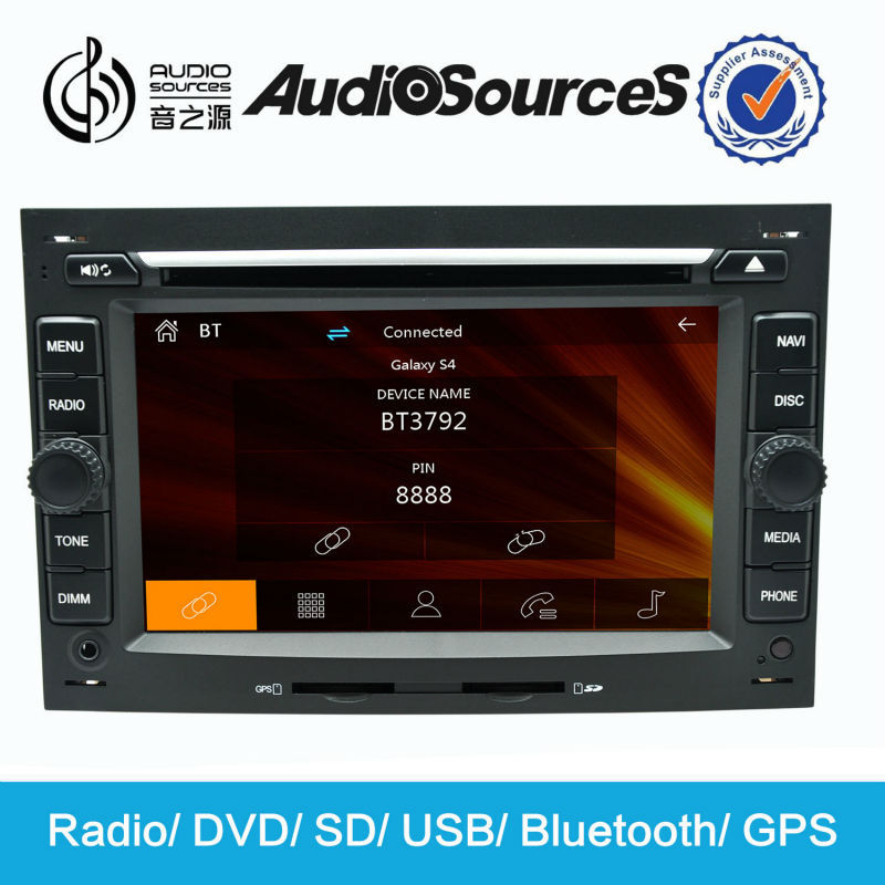 Audiosources PEUGEOT 207 dvd gps with bluetooth, TV, GPS