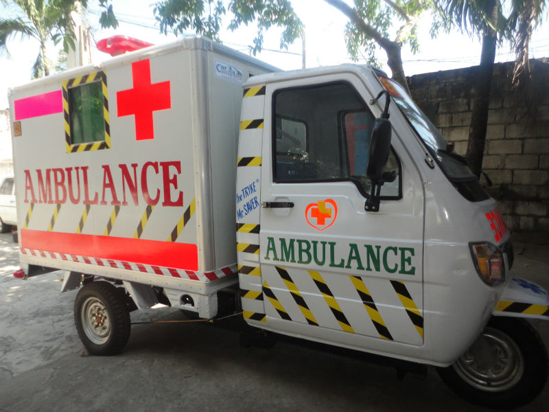 Ambulance (TRYKE, Three Wheeler)