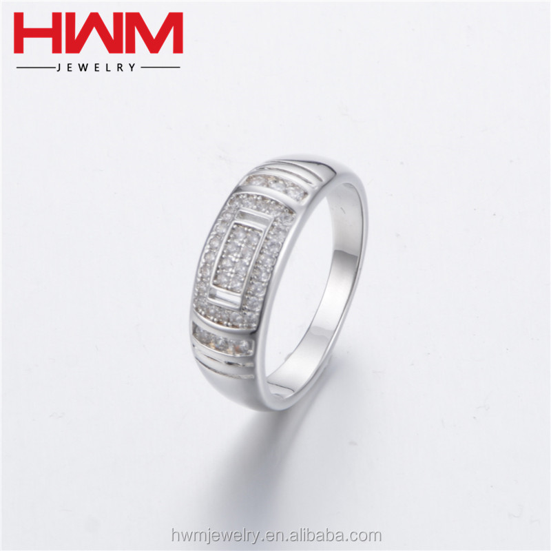 2017 fashion new model wholesale jewelry ring present 925 sterling silver imitation jewellery mumbai for men