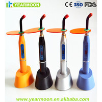 Best Price!Dental Plastic Color 5W LED Curing Light Wireless Cordless Lamp Fast Solidfication !Sales By YEARMOON CE