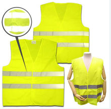 High Reflective lime green safety vest wholesale