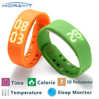 W2 Bluetooth Smart Bracelet Fitness Activity Tracker Wristband Pedometer Sleep Monitor Watch