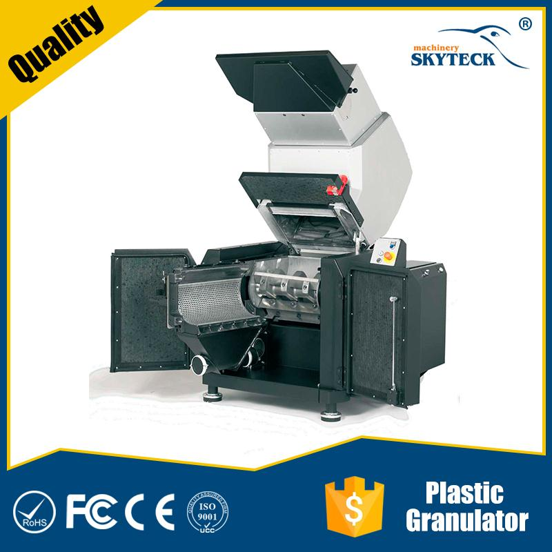 pe sheet crusher and recycling plastic machine shredder