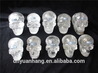 Natural clear quartz skull wholesale,crystals healing stones,gemstones for luck