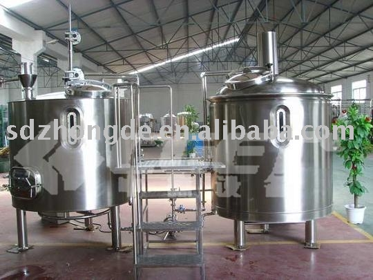 10 Hl mash/lauter & whirlpool/brew kettle equipment