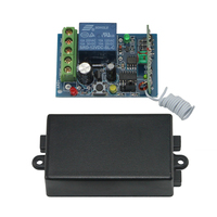 12 V DC 315 433 MHz rf wireless remote control switch relay receiver for electric door gate AG-C100