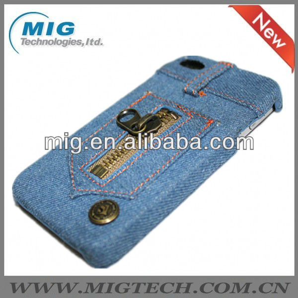 2013 new product Cownoy Fabric case for iphone 4, for iphone 4 4S case
