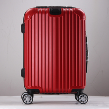 cheap abs colorful hard shell luggage cases