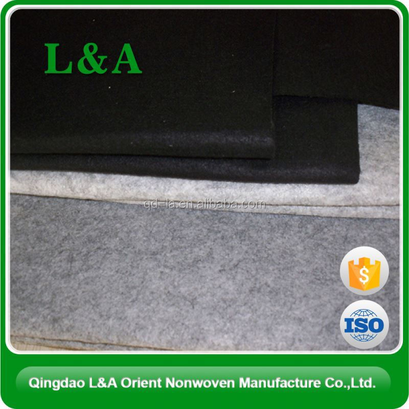 Eco-Friendly Skin-Friendly Pet Needlepunched Felt For Oversea Market