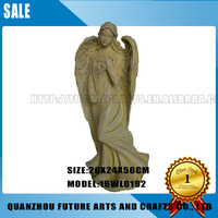 2016 Hot Sale Resin Beautiful Women angel figurines wholesale (16WL0192)