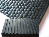 non slip garage usage ribbed rubber mat