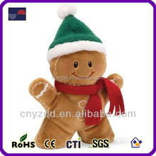 Free sample Hot Sell And Lovely Plush Christmas Santa Elf Toys For Crane Machines