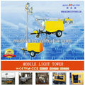 Industrial Tower Light, Diesel Tower Light Generator,9kw hot selling