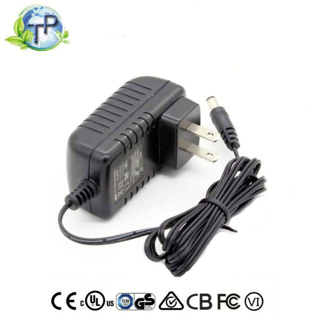 AC DC 24W 12V 2A Wall Plug Power Adapter 12 Volt 2 Amp Switching Power Supply with FCC UL CE KC