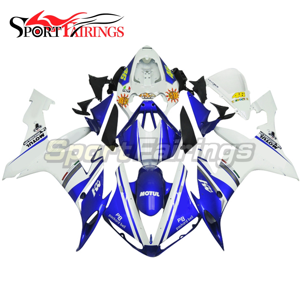 Full Fairings For Yamaha YZF <strong>R1</strong> 04 05 06 ABS Plastic Injection Motorcycle Fairing Kit Body Kits FIAT 46 Sun Flower