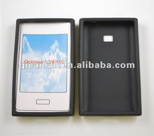 Mobile phone Silicon Case for LG E400/Optimus L3