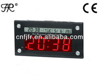 LED Digital Clock with LCD Calendar Function