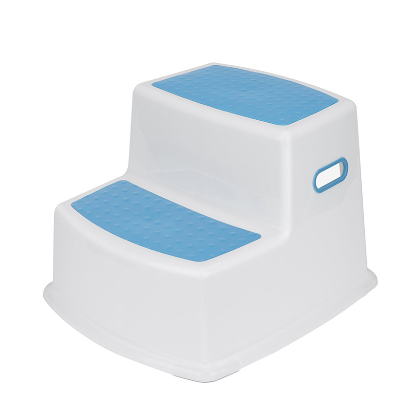 toddler dual height plastic step stool children non slip two levels step stool