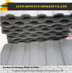 Cheap price with high quality sand coated metal roofing tile solar panel roof tiles