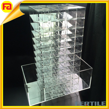 Store Spinning Lipstick Towers- Acrylic Lipstick Holders- Different Colors Are Available