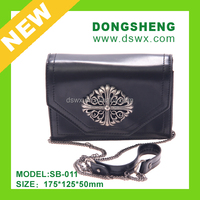 Vintage Leather Black Shoulder Bags for Women