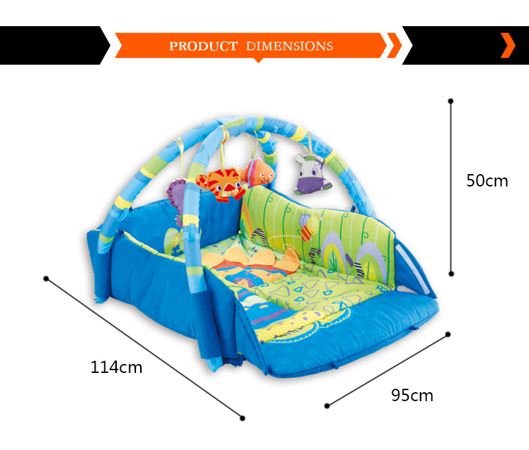 most popular colorful soft comfortable folding play mat for kids