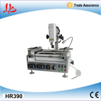 3 Temperature zones of lead-free low cost bga machine Honton R390 hot air infrared bga rework station