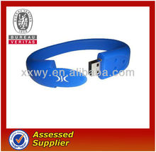 usb silicone wristband for promotion