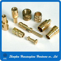 Precision Stainless Steel Metal Aluminum Lathe Machine CNC Brass Turning Parts
