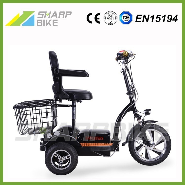 2015 cheap three wheel electric bicycle