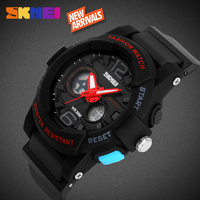 SKMEI high end jelly silicone slim unisex analog sports watches