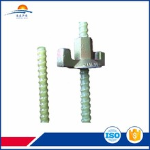 fibreglass reinforcement solid anchor bolt with low electrical conductivity