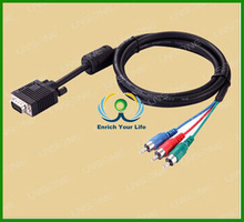 Hot sales cable vga rca casero,vga rca cable length custom
